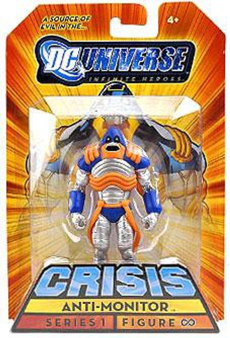 DC Universe Crisis Infinite Heroes Anti-Monitor Exclusive Action Figure