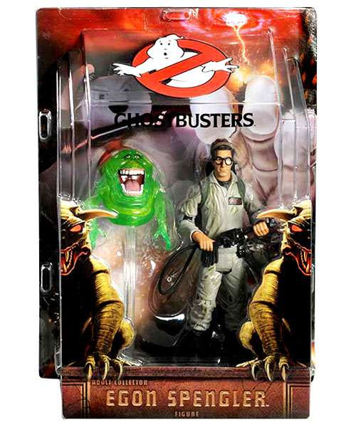Ghostbusters Dr. Egon Spengler Exclusive Action Figure [With Slimer]