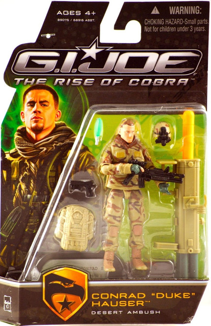 GI Joe The Rise of Cobra Conrad Hauser Duke Action Figure [Desert Ambush]