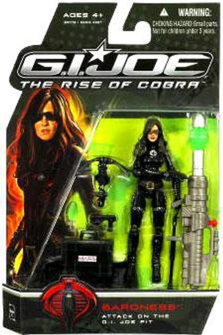 GI Joe The Rise of Cobra Baroness Action Figure [Attack on the GI Joe Pit]