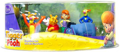 Disney Winnie the Pooh Figurine Set Exclusive 3-Inch
