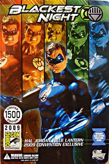 DC Green Lantern Blackest Night Hal Jordan Blue Lantern Exclusive Action Figure