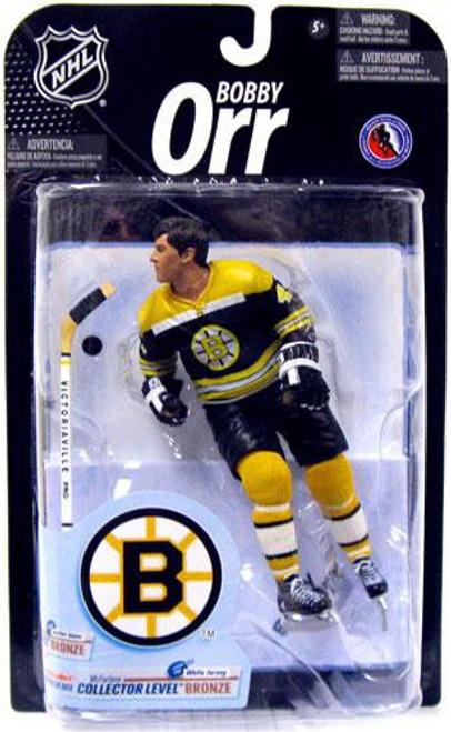 McFarlane Toys NHL Boston Bruins Sports Picks Series 23 Bobby Orr Action Figure [Black Jersey]
