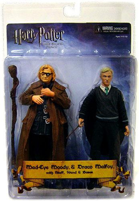 NECA Harry Potter The Half Blood Prince Mad Eye Moody & Draco Malfoy Action Figure 2-Pack