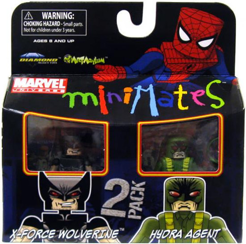Marvel Universe Minimates Series 29 Hydra Agent & X-Force Wolverine Minifigure 2-Pack