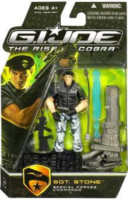 GI Joe The Rise of Cobra Sgt. Stone Action Figure