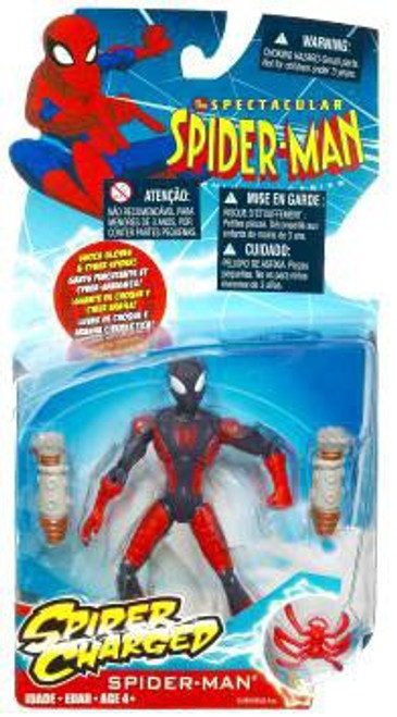 The Spectacular Spider-Man Spider-Charged Spider-Man Action Figure [Cyber Spider]