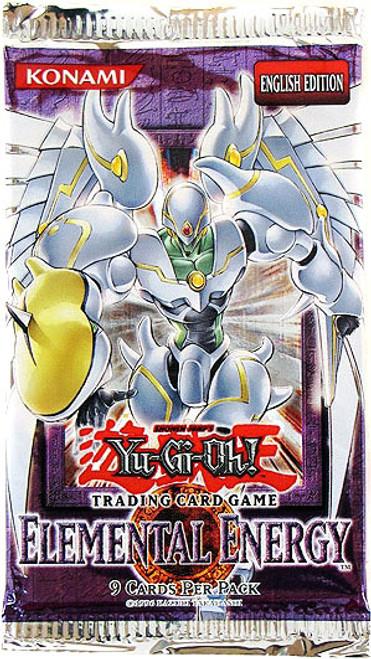 YuGiOh Elemental Energy Booster Pack [Sealed]