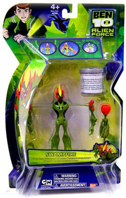 Ben 10 Alien Force Deluxe Alien Collection Swampfire Action Figure
