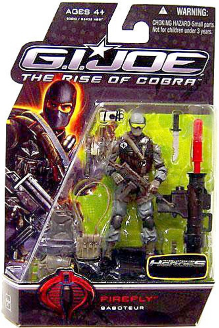 GI Joe The Rise of Cobra Firefly Exclusive Action Figure