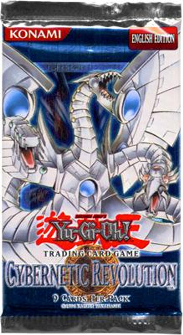 YuGiOh Cybernetic Revolution Booster Pack [Sealed]