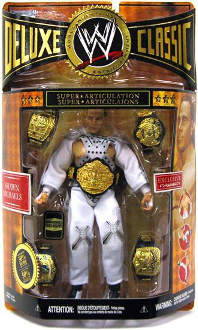 WWE Wrestling Deluxe Classic Exclusives Shawn Michaels Exclusive Action Figure
