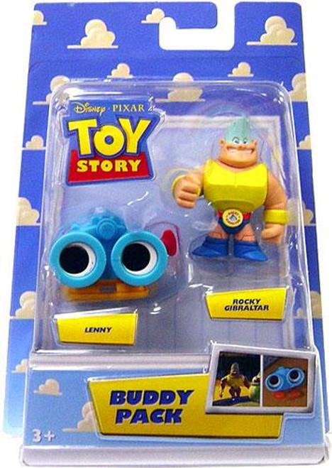 Toy Story Buddy Pack Lenny & Rocky Gibraltar Mini Figure 2-Pack