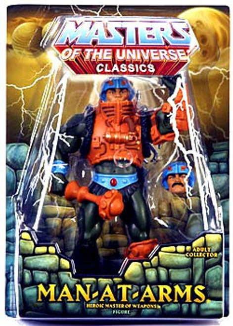 Masters of the Universe Classics Club Eternia Man-At-Arms Exclusive Action Figure [First Printing]