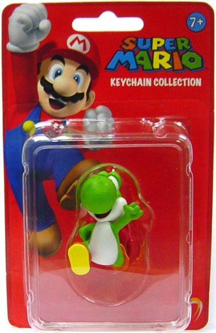Super Mario Keychain Collection Series 1 Yoshi 2-Inch Keychain