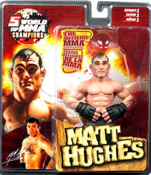 UFC World of MMA Champions Series 1 Matt Hughes Action Figure