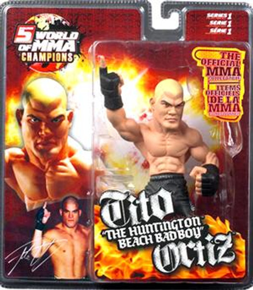 UFC World of MMA Champions Series 1 Tito Ortiz Action Figure