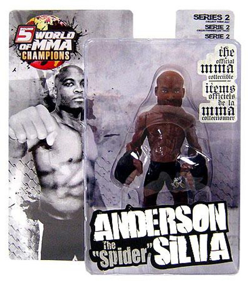 UFC World of MMA Champions Series 2 Anderson Silva Action Figure
