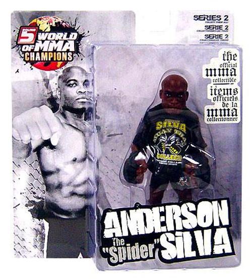 UFC World of MMA Champions Series 2 Anderson Silva Exclusive Action Figure [Muay Thai Shirt]