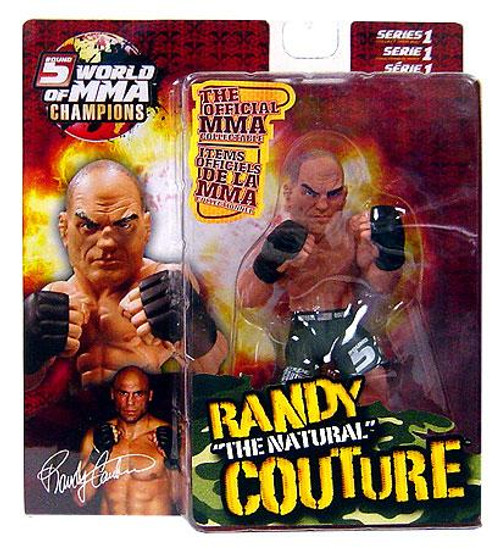 UFC World of MMA Champions Series 1 Randy Couture Action Figure [Green Shorts Variant]