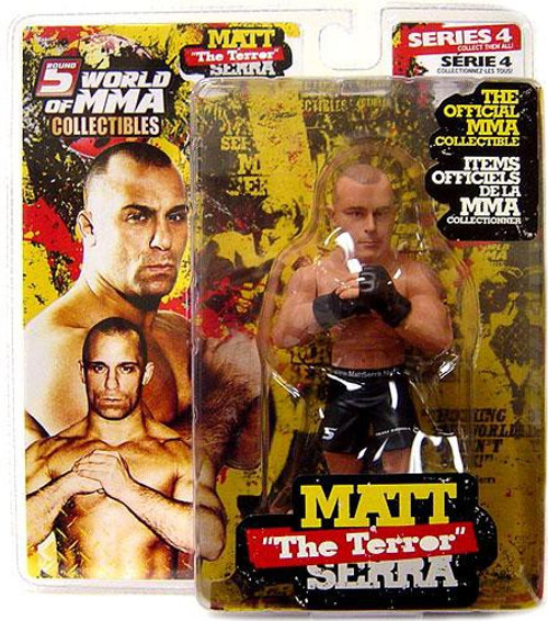UFC World of MMA Champions Series 4 Matt Serra Action Figure