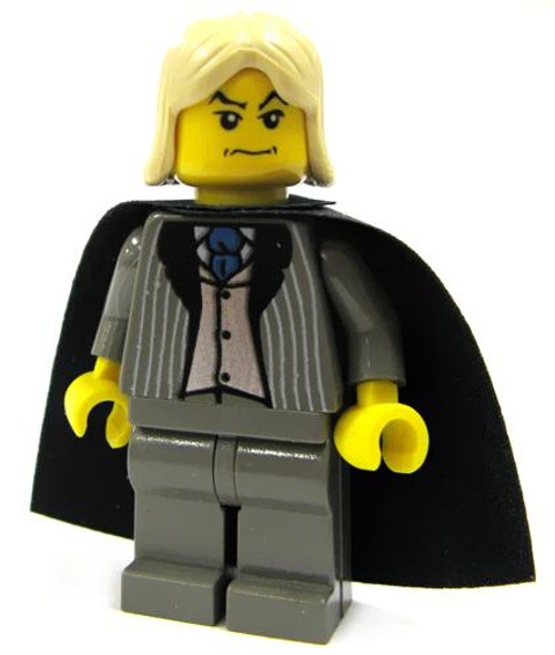 LEGO Harry Potter Loose Lucius Malfoy Minifigure #1 [Gray Suit Loose]