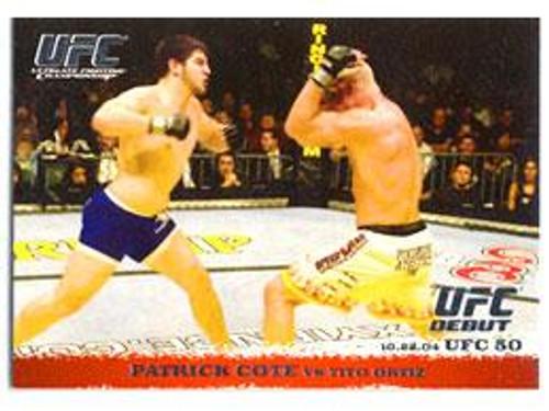 UFC 2009 Round 1 Patrick Cote #18