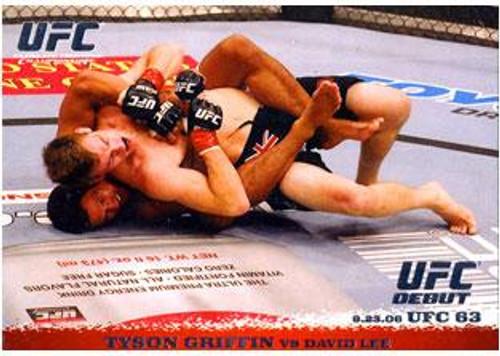 UFC 2009 Round 1 Tyson Griffin #52
