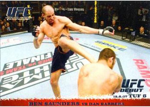 UFC 2009 Round 1 Ben Saunders #73