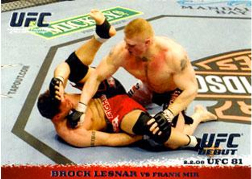 UFC 2009 Round 1 Brock Lesnar #81
