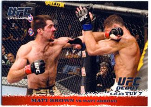 UFC 2009 Round 1 Matt Brown #86