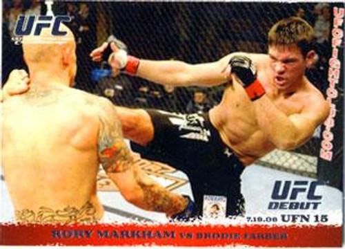 UFC 2009 Round 1 Rory Markham #90
