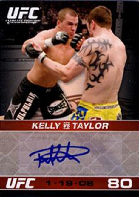 UFC 2009 Round 1 Paul Kelly Autograph Card A-PK