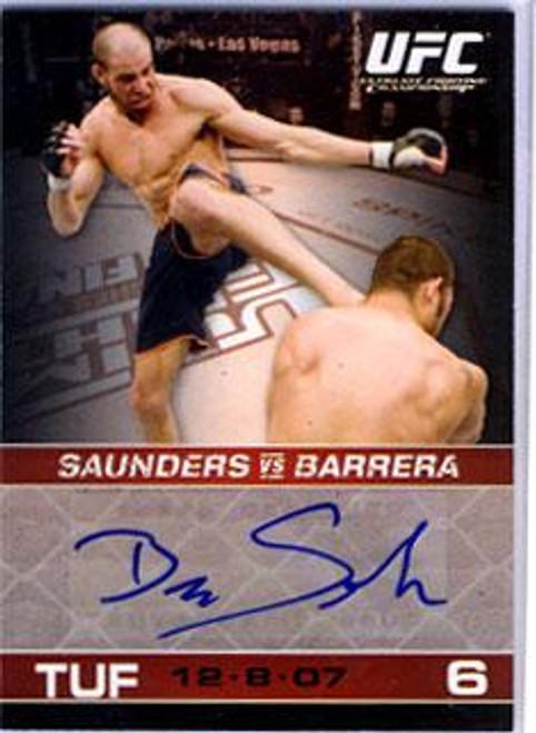 UFC 2009 Round 1 Ben Saunders Autograph Card A-BS