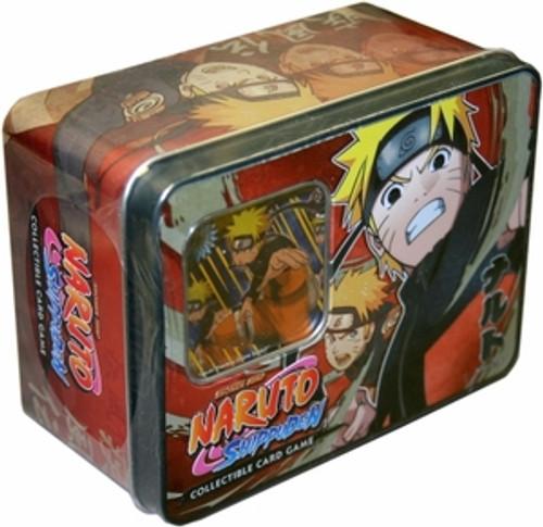 Shippuden Card Game Unbound Power Naruto Uzumaki Collector Tin