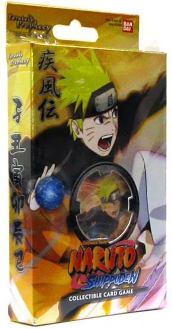 Naruto Shippuden Card Game Foretold Prophecy Spiral of the Fury Theme Deck
