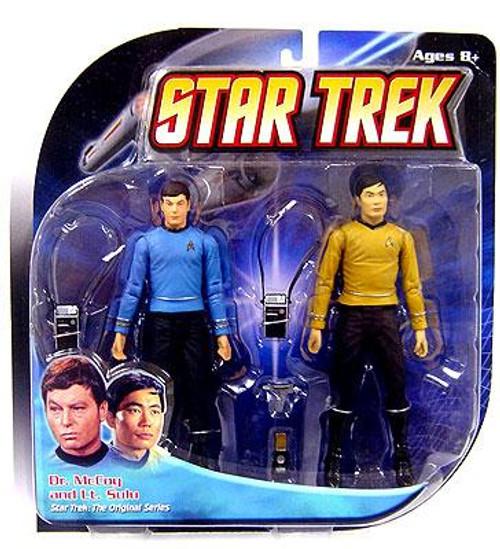 Star Trek The Original Series Dr. McCoy & Lt. Sulu Action Figure 2-Pack