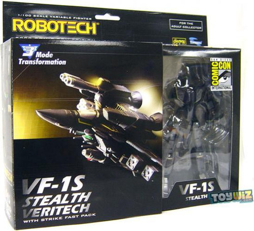Robotech VF-1S Stealth Veritech Exclusive Figure