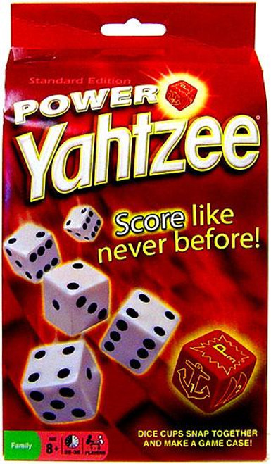 Power Yahtzee Board Game