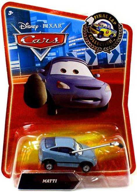 Disney Cars Final Lap Collection Matti Exclusive Diecast Car