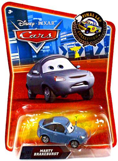 Disney Cars Final Lap Collection Marty Brakeburst Exclusive Diecast Car