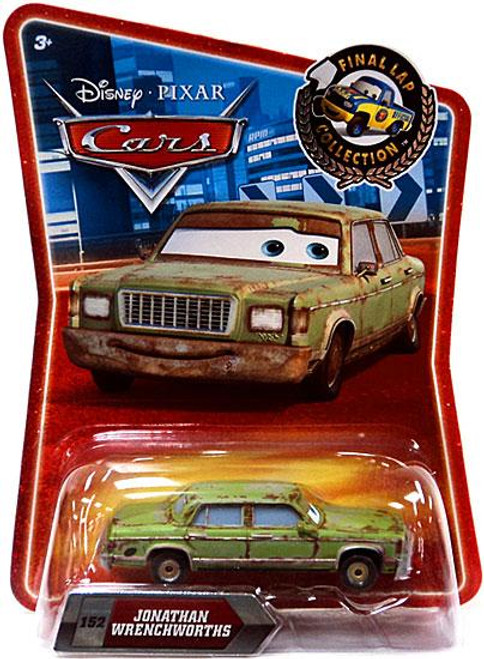Disney Cars Final Lap Collection Jonathan Wrenchworths Exclusive Diecast Car