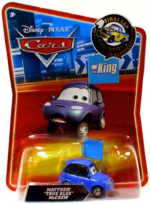 "Disney Cars Final Lap Collection Matthew ""True Blue"" McCrew Exclusive Diecast Car"