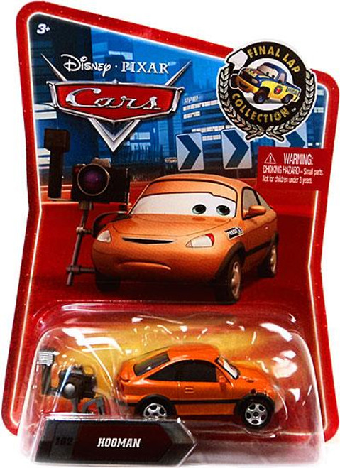 Disney Cars Final Lap Collection Hooman Exclusive Diecast Car