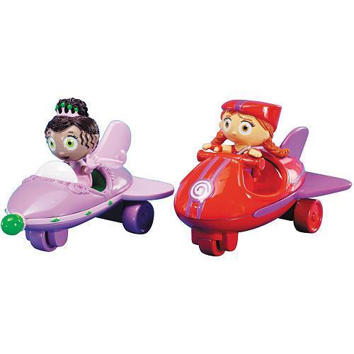 Disney Super Why Princess Presto & Wonder Red Vehicles