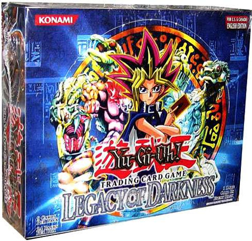 YuGiOh Legacy of Darkness (1st Edition) Booster Box [36 Packs] [Sealed]