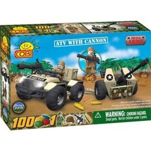 COBI Blocks Small Army ATV with Cannon Set #2215
