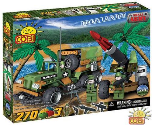COBI Blocks Small Army Rocket Launcher Set #2371