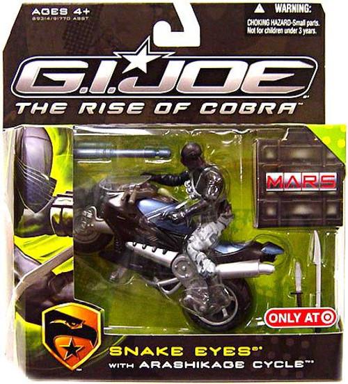 GI Joe The Rise of Cobra MARS Troopers Snake Eyes Exclusive Action Figure