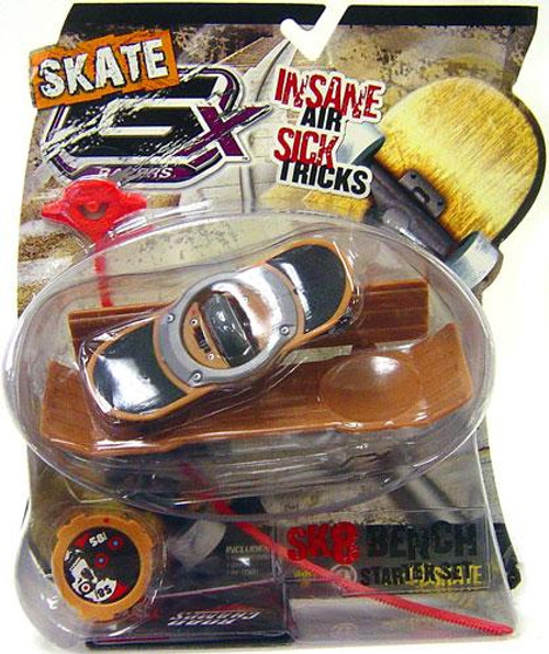 GX Racers Skate SK8 Bench Stunt 58mm Deck Plate Starter Set [Free Ride Board]